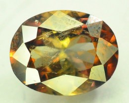 Rare 2.10 ct Multicolor Natural Axinite