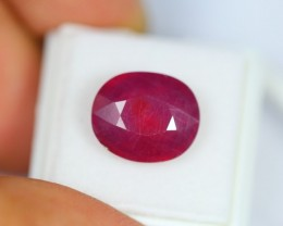 10.23Ct Natural Pigeon Blood Red Madagascar Ruby Oval Cut