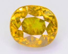 CERTIFIED 4.865 CT NATURAL STUNNING QUALITY TITANITE SPHENE