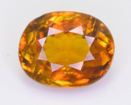 CERTIFIED 4.36 CT NATURAL BEAUTIFUL TITANITE SPHENE