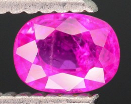 GiL Certified Unheated 0.62 ct Natural Ruby SKU.2