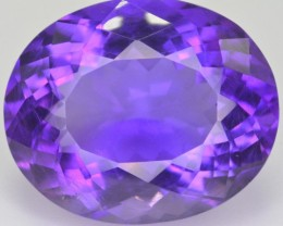 24.15 ct Natural Beautiful Amethyst Gemstone