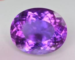 24.15 ct Natural Beautiful Amethyst Gemstone. W