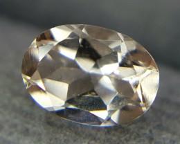 0.70Crt Natural Morganite Faceted Gemstone (R 72)