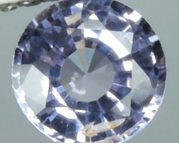 1.40 Cts Outstanding Top Luster Round Violetish Blue Spinel