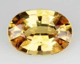 2.60 Cts Natural Imperial Orange Hessonite Garnet Oval Cut Srilankan Gem