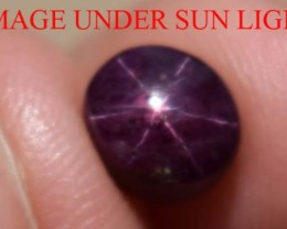 2.75 Carats Star Ruby Beautiful Natural Unheated & Untreated
