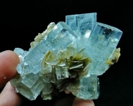 540+ Ct Unheated, Natural  Stunning  Aquamarine crystal specimen