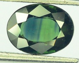 1.40 ct Natural Green  Sapphire