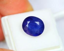 7.92Ct Natural Blue Sapphire Oval Cut Madagascar Origin