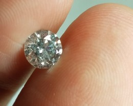 Brilliant IGL Certified $1855 Natural 0.82ct. Round White Diamond