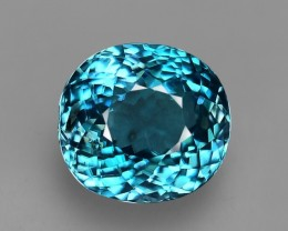 1.03 Cts Unusual Rare Green Blue Natural Grandidierite