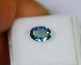 1.33Ct Natural Violet Blue Tanzanite Oval Cut