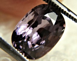 CERTIFIED - 3.63 Carat Purple VS/SI Spinel - Gorgeous