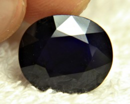 CERTIFIED - 17.98 Carat Midnight Blue Sapphire - Gorgeous