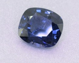 Untreated Certified 2.96 ct Ceylon COBALT Spinel - (00742)