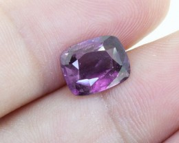 Untreated 2.27 ct Ceylon Purple Spinel - (00323)