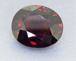 "BIG UNTREATED - PYROPE GARNET from Sri Lanka ""Ceylon"" 11.40 Ct. ("