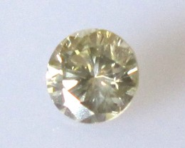Ceritified 0.36cts Natural Fancy Color Brilliant Cut Diamond