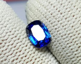 CERTIFIED 1.04 CTS NATURAL BEAUTIFUL NICE COLOR BLUE SAPPHIRE CEYLON