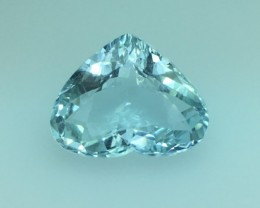 3.93 Ct Natural Sky Blue Aquamarine Awesome Luster ~ Skardu Kj19