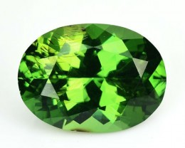 ~ULTRA RARE~ 5.27 Cts Natural Zircon Sparkling Green Oval Sri Lanka