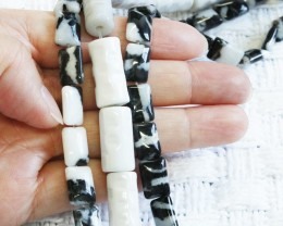 Three strands Zebra Jsper strand beads GOGO 1778