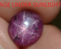 2.47 Ct Star Ruby CERTIFIED Beautiful Natural Unheated & Untreated