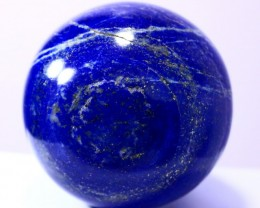 4090 CT Natural lapis lazuli Carvid Ball Stone Special Shape