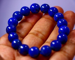 163 CT Natural lapis lazuli Bracelets Carved Beads Stone Special Shape