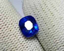 CERTIFIED 1.53 CTS NATURAL BEAUTIFUL CUSHION MIX BLUE SAPPHIRE SRI LANKA