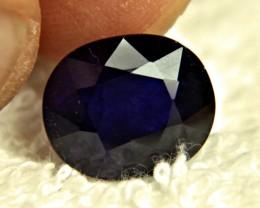 1$NR - 9.24 Carat Midnight Blue Sapphire - Gorgeous
