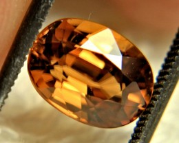 3.72 Carat Vibrant Golden Zircon - Superb