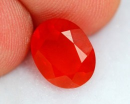 NR Auction Lot 04 ~ 2.12Ct Natural Top Grade Red Mexican Fire Opal