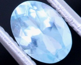 BLUE ZIRCON FACETED STONE 0.70 CTS PG-466
