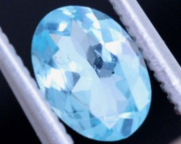 BLUE ZIRCON FACETED STONE 0.60 CTS PG-467