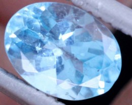 BLUE ZIRCON FACETED STONE 0.70 CTS PG-468