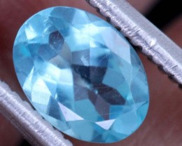 BLUE ZIRCON FACETED STONE 0.65 CTS PG-469