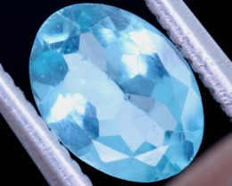 BLUE ZIRCON FACETED STONE 0.70 CTS PG-470