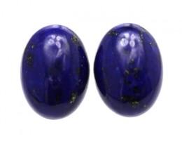 10.40cts Natural Lapis Lazuli Matching Oval Cabochons