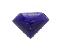 1.85cts Natural Lapis Lazuli Diamond Profile Cabochon