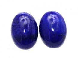 10.35cts Natural Lapis Lazuli Matching Oval Cabochons