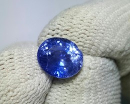 CERTIFIED 1.91 CTS NATURAL BEAUTIFUL OVAL MIX VIOLETISH BLUE SAPPHIRE CEYLO