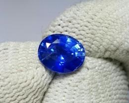 CERTIFIED 1.37 CTS NATURAL BEAUTIFUL OVAL MIX BLUE SAPPHIRE SRI LANKA