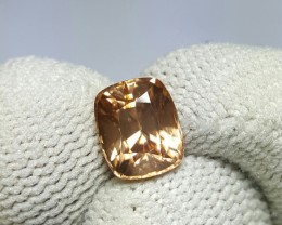 UNTREATED 2.72 CTS NATURAL BEAUTIFUL CUSHION MIX BROWN ZIRCON