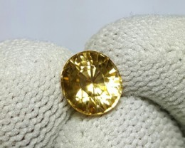 UNTREATED 2.28 CTS NATURAL BEAUTIFUL OVAL MIXED YELLOW ZIRCON