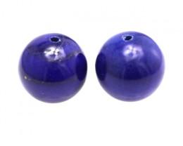 34.96cts Natural Lapis Lazuli Matching Round Beads