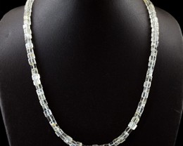 Genuine 199.50 Cts Untreated Quartz Beads Necklace - Wow