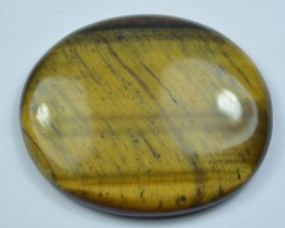 55.60 Ct UNTREATED NATURAL BEAUTIFUL TIGERS EYE