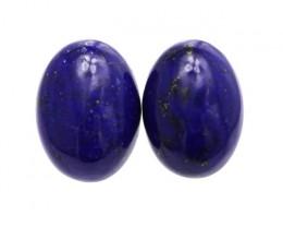 10.39cts Natural Lapis Lazuli Matching Oval Cabochons